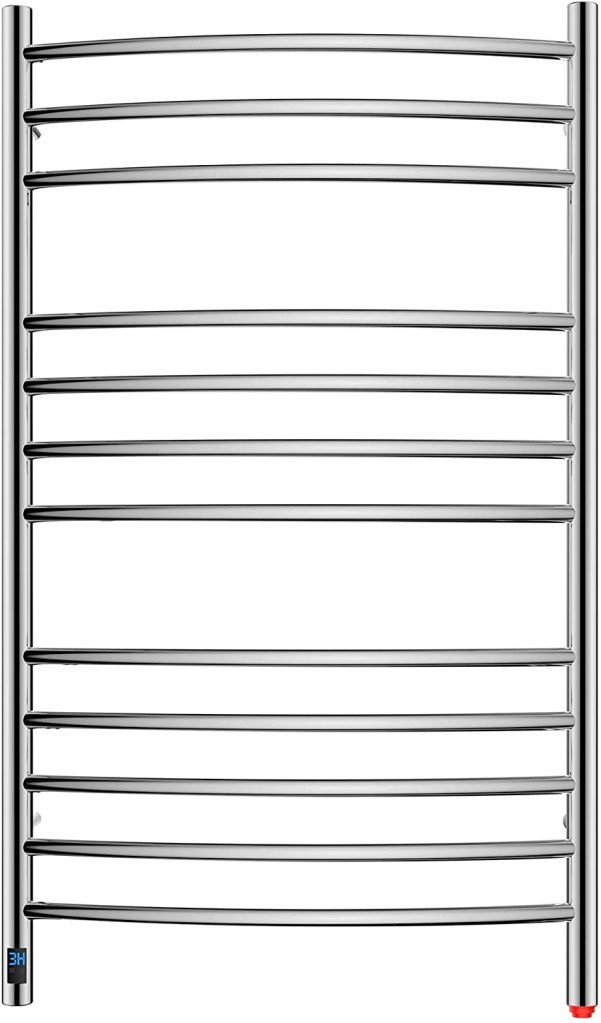 HEATGENE Towel Warmer with Timer, Electric Towel Warmer with Temperature Control, Wall-Mounted Large 12 Bars Towel Racks with Built-in Timer,...