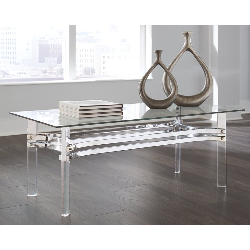 Calles lucite acrylic Coffee Table