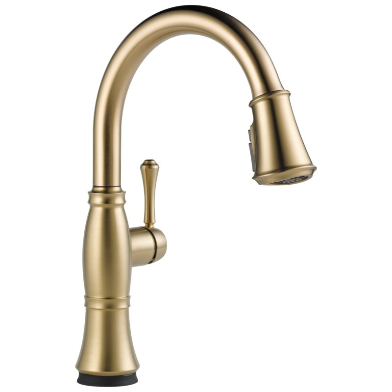 9197T-CZ-PR-DST Cassidy Voice IQ Pull Down Touch Bar Faucet with Touch20 Technology