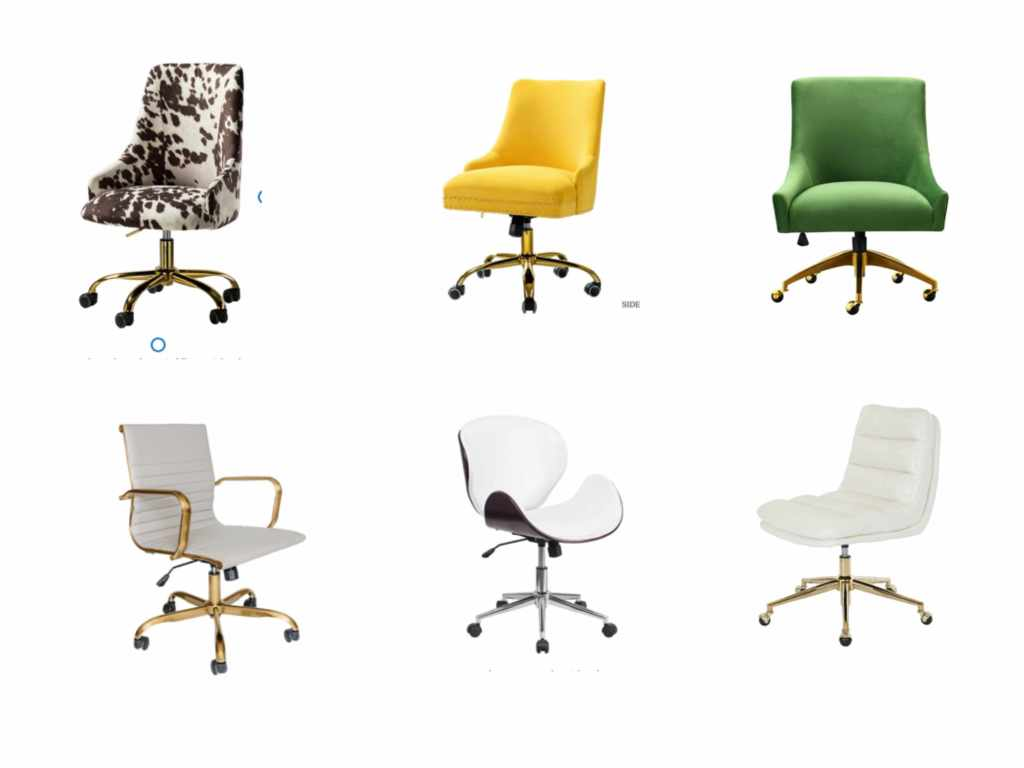 chic modern home office chairs