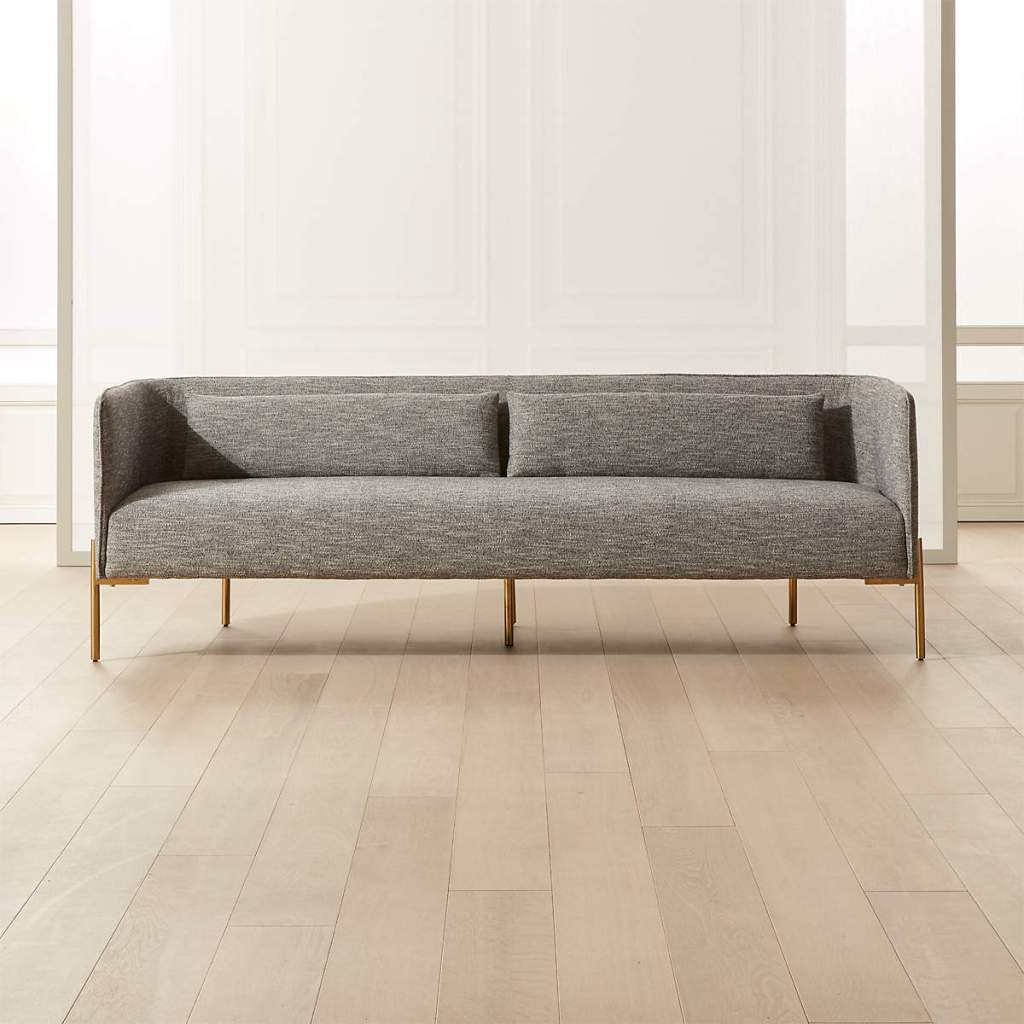 COLETTE SOFA WITH FABRIC PIPING