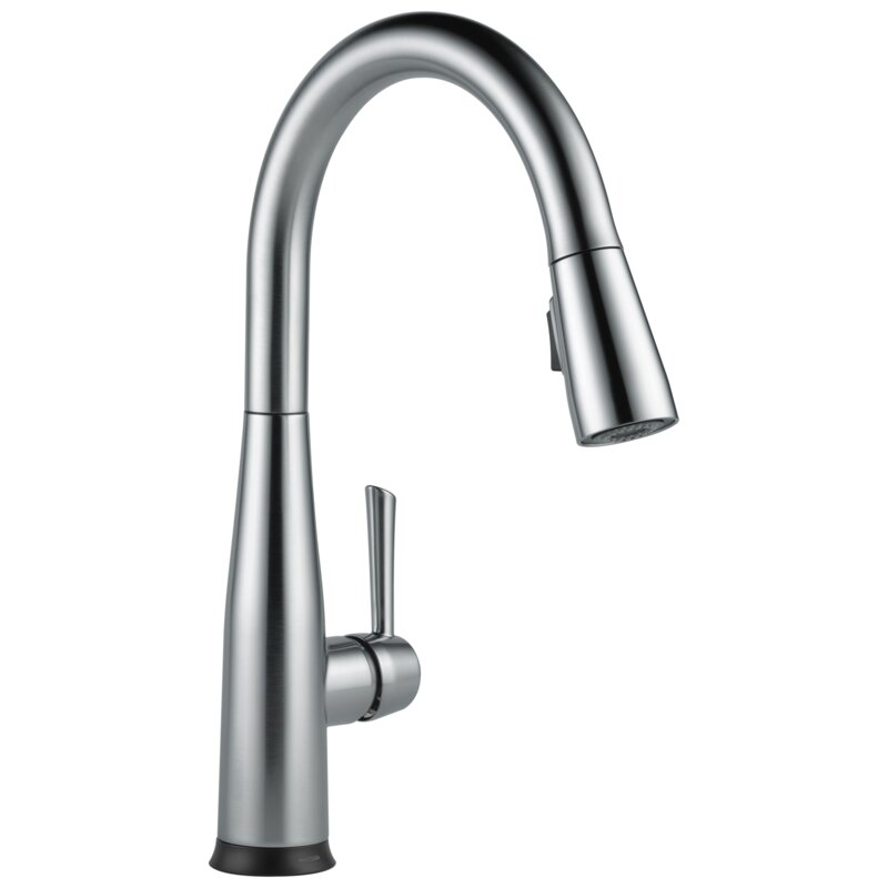 9113TV-AR-DST Essa Voice IQ Pull Down Touch Single Handle Kitchen Faucet with Touch20 Technology