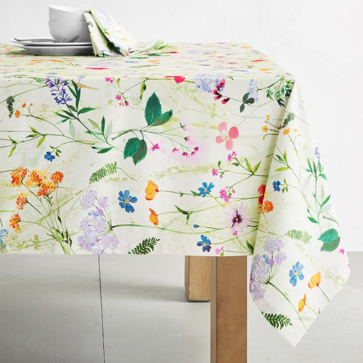 Pressed Flower Tablecloth