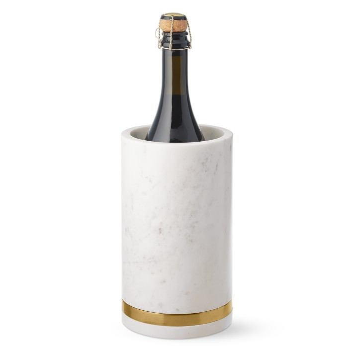 Marble & Brass Wine Chiller