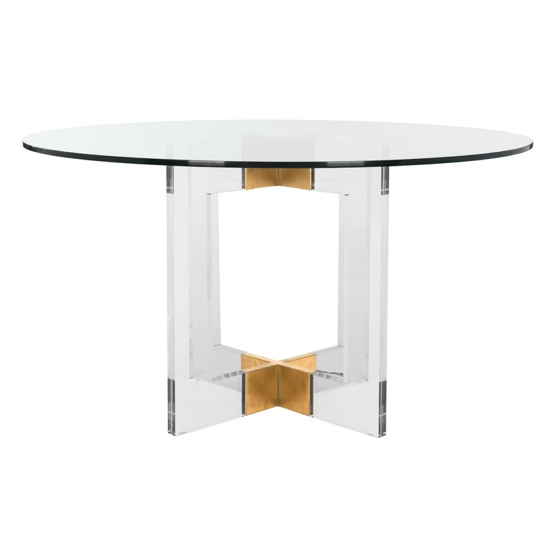 Ravello Lucite acrylic Dining Table