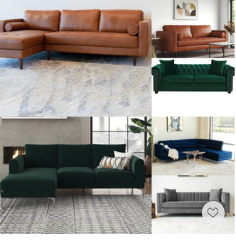 Great Memorial Day Seal— these comfy and stylish sofas and sectionals are highly rated and we truly love their s chic design with simplicity, softness and warmth.