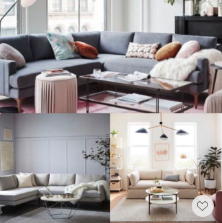 Up to 75% off warehouse sale! This Memorial's Day Weekend Only! Chic Sofa. Chic Sectionals