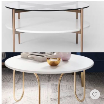 Memorial Day Sale—coffee tables.