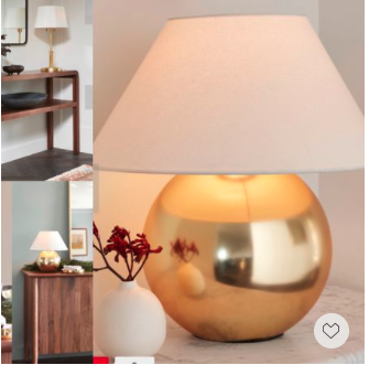 These stylish lamps we handpicked are now Up to 60% off and free shipping with code FREESHIPLIGHT