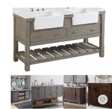 Memorial Day Sale—these our handpicked bath vanities will elevate your space with a fresh and chic modern coastal farmhouse vibe. The. Plies we chose here roll nicely blend in any decor.