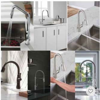 Memorial Day Clearance is on. Shop our handpicked semi-pro kitchen faucets featured with powerful docking function, touchless smart technologies and sleek modern design.