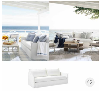 Outdoor living room is on-trend now, and particularly people want to make it as sophisticated as indoors. Thanks to luxurious high-performance fabric, the dream now comes true. Everything is 20% off with Code DIVIEIN.