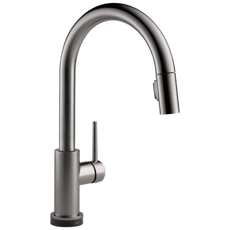 9159TV-KS-DST Trinsic VoiceIQ Pull Down Touch Single Handle Kitchen Faucet with Touch2O, Electronic