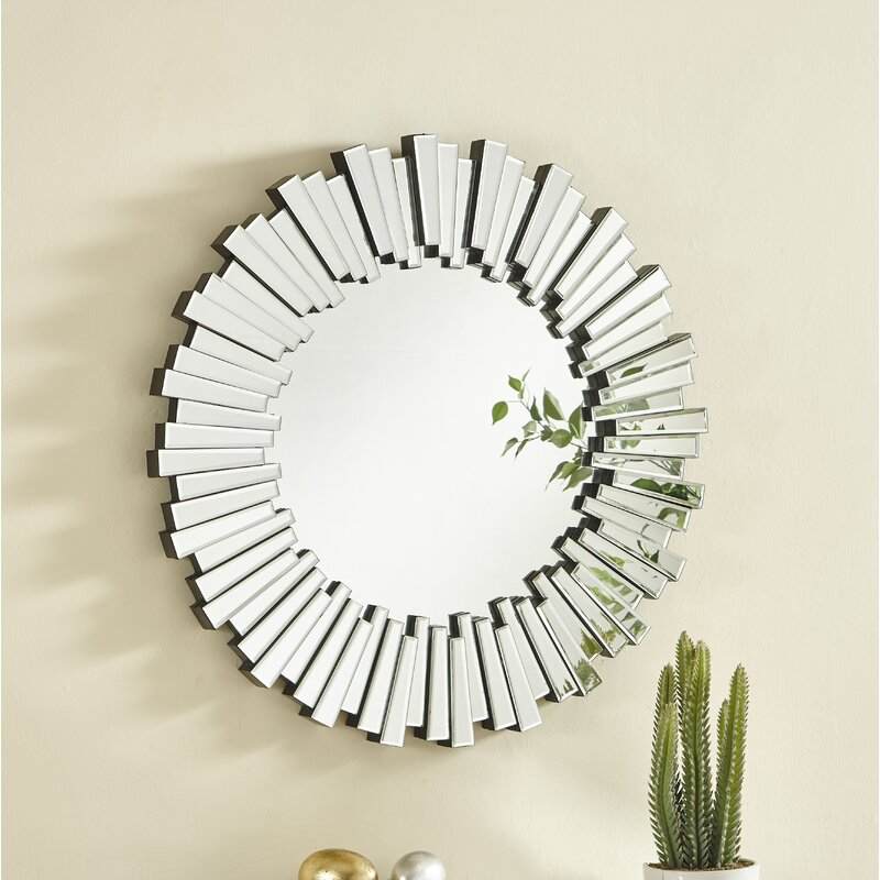 Wheless Modern & Contemporary Wall Mounted Accent Mirror