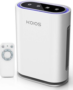 KOIOS Air Purifier Large Room, 600 Sq Ft, 2021 Upgraded, True HEPA Filter, Active Charcoal, Ultraviolet Light, Ionic Air Cleaner, Odor Eliminator…