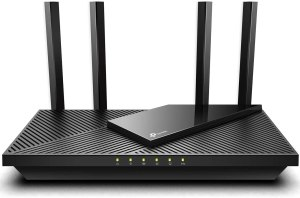 TP-Link WiFi 6 Router AX1800 Smart WiFi Router (Archer AX21) – Dual Band Gigabit Router, Works with Alexa - A Certified for Humans Device