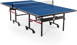 STIGA Advantage Professional Table Tennis Tables - Competition Indoor Design with Net & Post - 10 Minute Easy Assembly Ping-Pong Table with Single...