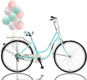 Wildmont 26 Inch Single Speed Bicycle(Stable Back SEAT),Comfortable Women Bikes for Recreation Shopping Picnics, Beach Cruiser Bike for Women and Men...