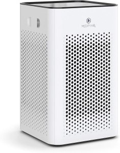 Medify MA-25 Air Purifier with H13 True HEPA Filter | 500 sq ft Coverage | for Smoke, Smokers, Dust, Odors, Pollen, Pet Dander | Quiet 99.9% Removal to 0.1...