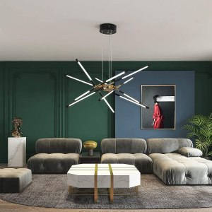 Modern LED Chandelier Embedded Installation Ceiling Lights Fixed lamp pluggable New Art Lamps for Dining Room, Kitchen,Bedroom, Living Room Decoration Easy...
