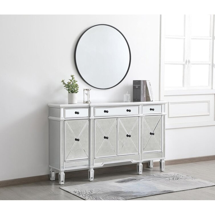 Caila 60'' Wide 3 Drawer Sideboard
