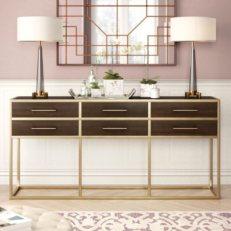 Herlef 76'' Console Table