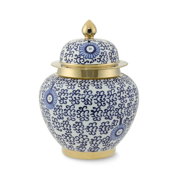 Ginger Jar with Gold Detail