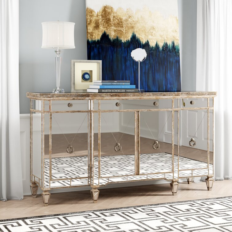 Roehl 70'' Wide 3 Drawer Buffet Table