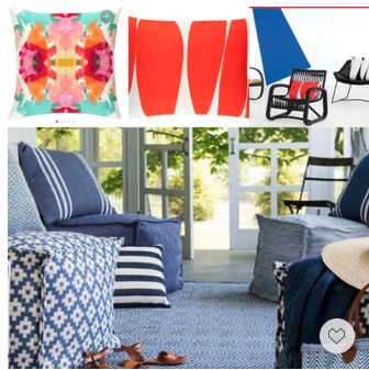 Memorial Day Sale—these elegant outdoor pillows are 30% off and they will elevate your backyard seating with a touch of indoor sophistication.
