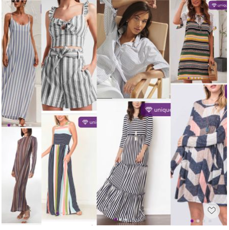 The Stripe dress is the summer classic, chic and playful. #LTKSeasonal