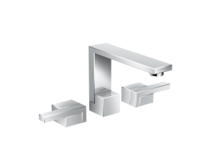 Axor Edge 1.2 GPM Widespread Bathroom Faucet 130 - Less Drain Assembly