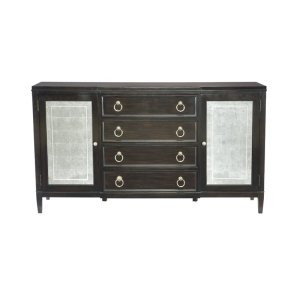 Sutton House 68.13'' Wide 4 Drawer Sideboard solid wood