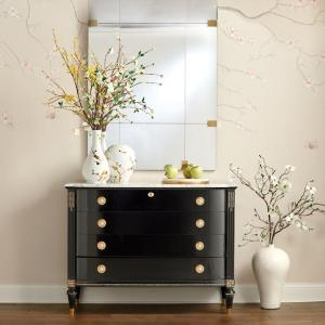 Regency 4-Drawer Bow Front Chest