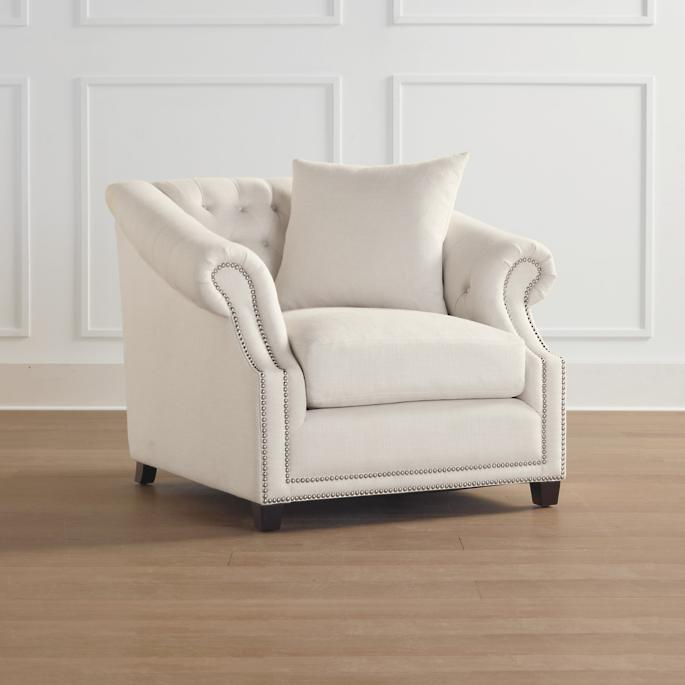 Wendover Lounge Chair tufted