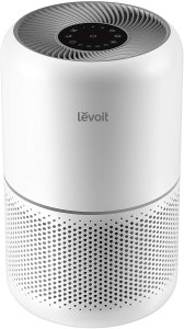 LEVOIT Air Purifier for Home Allergies and Pets Hair Smokers in Bedroom, H13 True HEPA Filter, 24db Filtration System Cleaner Odor Eliminators, Remove 99...