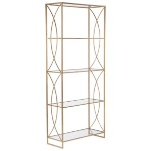 Accent metal furniture. The design brings elegance to homes and living spaces. Features Accent your garden, patio, or any indoor room Due to types of computer monitor, some color/finish may vary slightly Avoid extreme temperature and store indoors during long periods of freezing weather Product Details Frame Material: Steel Shelf Material: Metal Adult Assembly Required: No