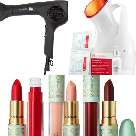 Nordstrom Anniversary Sale—beauty exclusive—from facial steamer to hair dryer, your morning beauty routine essentials. #nsale