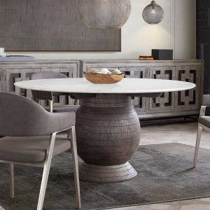 Ashe 60'' Pedestal Dining Table
