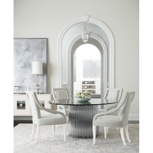 Calista Pedestal Dining Table