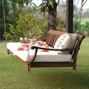Cambridge Casual Como Outdoor Swing Daybed with Cushion
