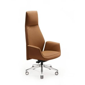 Downtown Genuine Leather Executive Chair