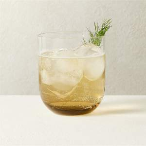 DUVAL SMOKE DOUBLE OLD-FASHIONED GLASS