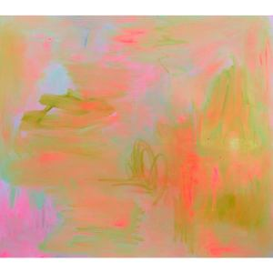 """""""Everglades"""" by Trixie Pitts Abstract Expressionist Oil Painting"""