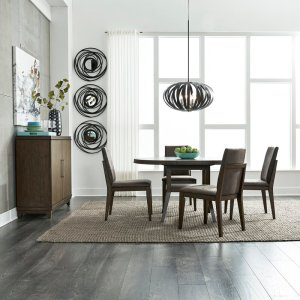 Gafford 5 Piece Extendable Dining Set