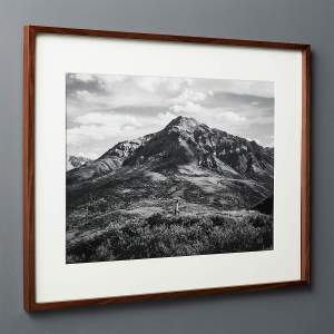 GALLERY WALNUT FRAME WITH WHITE MAT 18X24