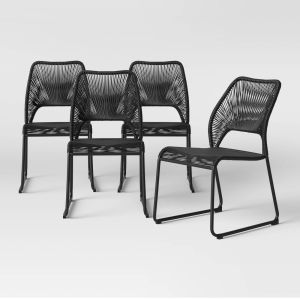 Fisher 4pk Patio Dining Chair - Project 62™