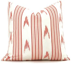 Schumacher Santa Barbara Ikat in Pink and Red Decorative image 0 Schumacher Santa Barbara Ikat in Pink and Red Decorative image 1 Schumacher Santa Barbara Ikat in Pink and Red Decorative image 2 PopOColor 58,480 sales | 5 out of 5 stars      Schumacher Santa Barbara Ikat in Pink and Red Decorative Pillow Cover, Made to order, accent throw, toss pillow cover