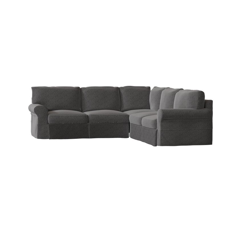 """Lacourse 94"""" Wide Corner Sectional"""