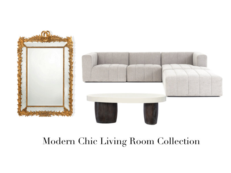 A Modern And Chic Living Room