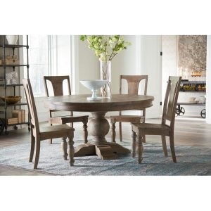 Musson Mango Solid Wood Pedestal Dining Table